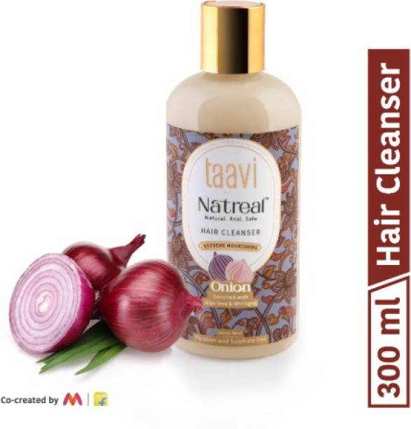Taavi Natreal Onion Hair Cleanser for extreme nourishment - NO Harmful chemicals, only real ingredients