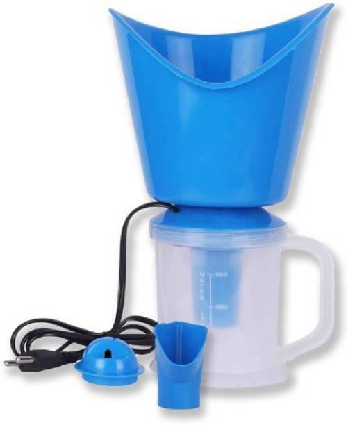 HVK Facial Steamer Inhaler Vaporizer for Face, Nose, Cold, Cough & Sinus ,3 In 1 Steam Vaporizer ,Steam breath machine. Vaporizer