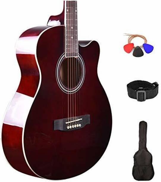 KADENCE KAD-FNTR-BRN-C Acoustic Guitar Linden Wood Rosewood Right Hand Orientation
