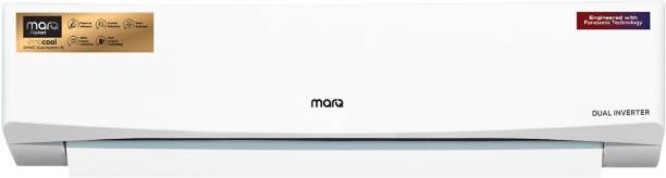 MarQ By Flipkart 1.5 Ton 5 Star Split Dual Inverter AC with Wi-fi Connect  - White