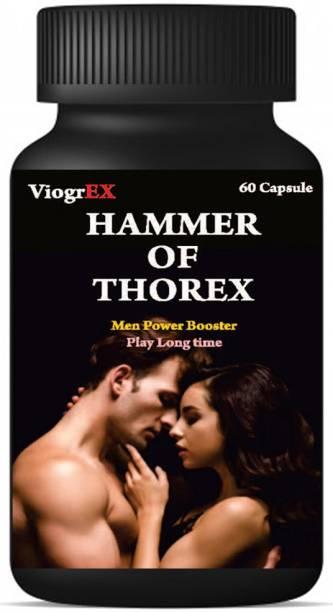 Hammer of Thorex Sexual Power Shilajit Capsule Timing Stamina For Men long