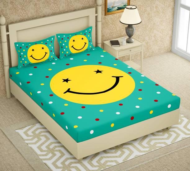 AC FASHION 150 TC Cotton Double Cartoon Bedsheet
