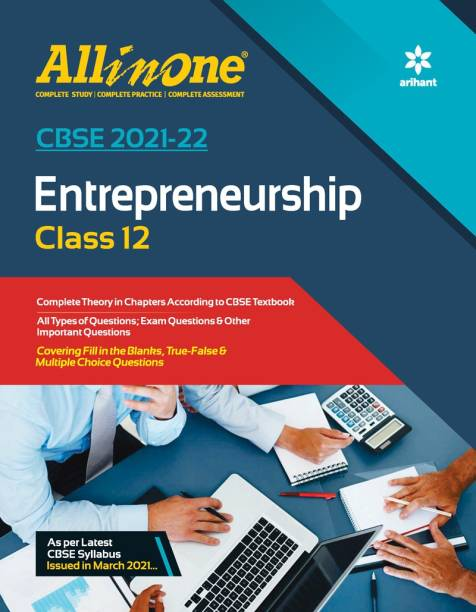 CBSE All In One Entrepreneurship Class 12 for 2022 Exam (Updated edition for Term 1 and 2)