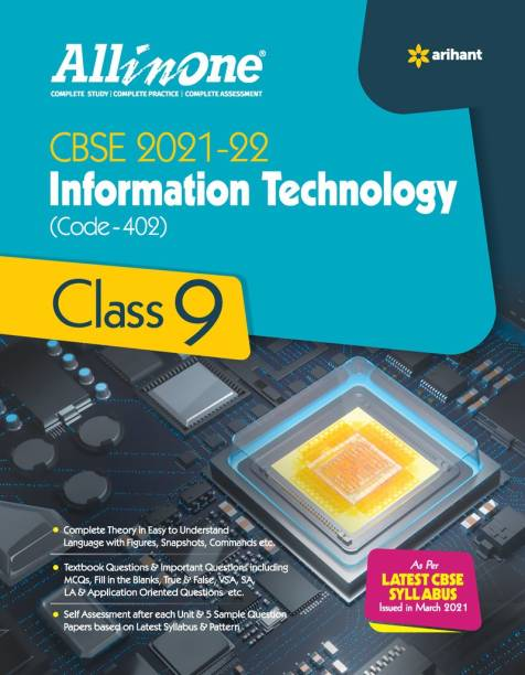 Cbse All in One Information Technology Class 9 for 2022 Exam