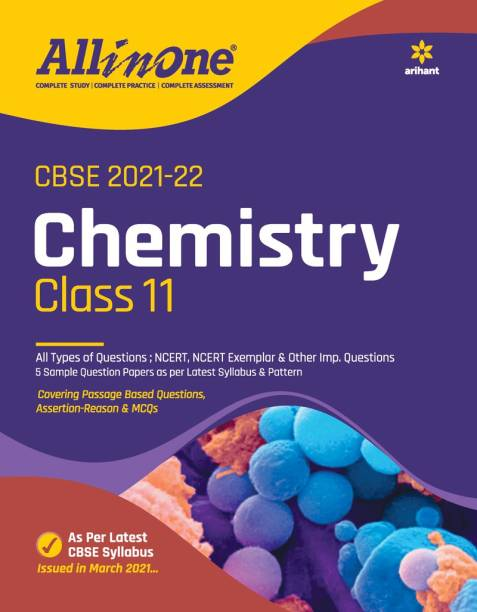Cbse All in One Chemistry Class 11 for 2022 Exam