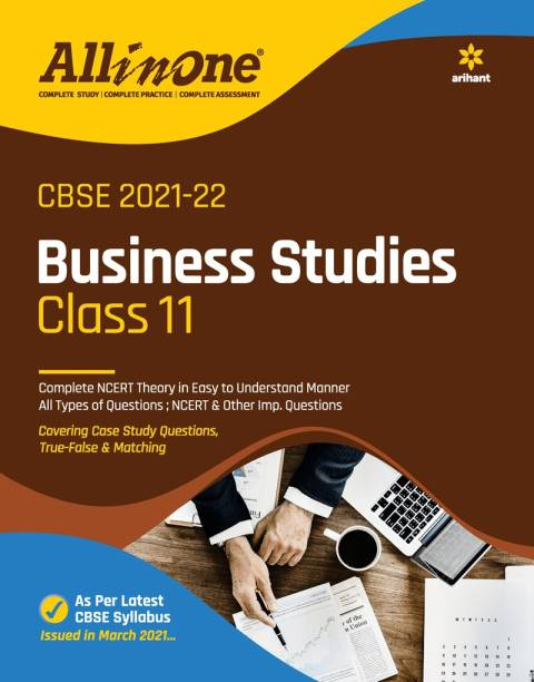 CBSE All In One Business Studies Class 11 for 2022 Exam (Updated edition for Term 1 and 2)