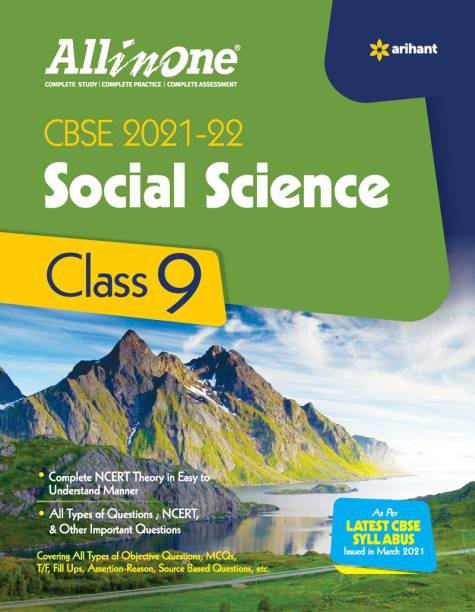 CBSE All In One Social Science Class 9 for 2022 Exam (Updated edition for Term 1 and 2)
