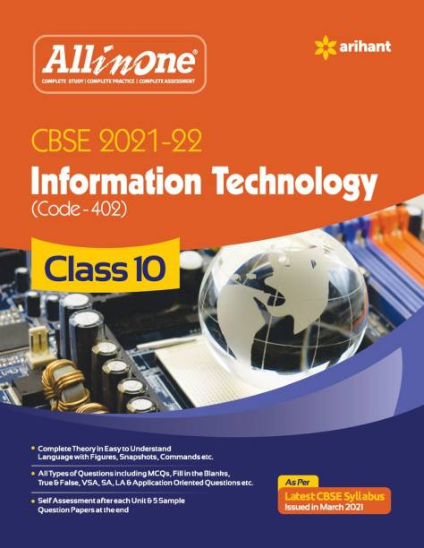 Cbse All in One Information Technology Class 10 for 2022 Exam