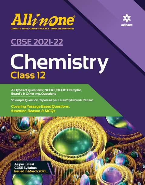 Cbse All in One Chemistry Class 12 for 2022 Exam