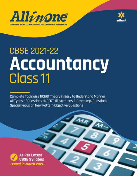 Cbse All in One Accountancy Class 11 for 2022 Exam