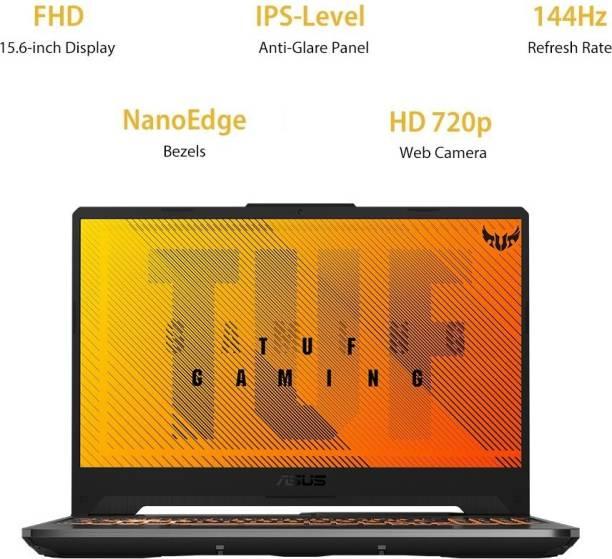 ASUS TUF Gaming F15 Core i5 10th Gen - (8 GB/512 GB SSD/Windows 10 Home/4 GB Graphics/NVIDIA GeForce GTX 1650 Ti/144 Hz) FX506LI-HN271TS Gaming Laptop