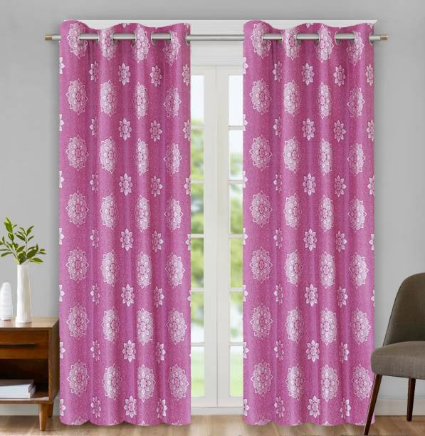 Flipkart SmartBuy 274 cm (9 ft) Polyester Long Door Curtain (Pack Of 2)