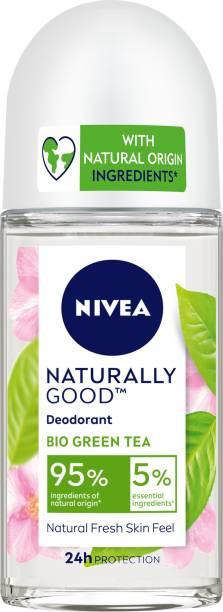 NIVEA Naturally Good Deodorant Roll On, Bio Green Tea, 50 ml Deodorant Roll-on  -  For Women