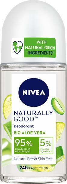 NIVEA Naturally Good Deodorant Roll On, Bio Aloe Vera, 50 ml Deodorant Roll-on  -  For Women
