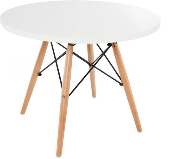 Finch Fox Replica Kids Eiffel DSW Circular Ormond Coffee Table (White) Engineered Wood 2 Seater Dining Table