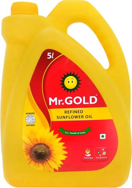 Mr.Gold Sunflower Oil Can
