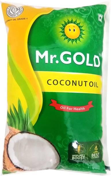 Mr.Gold Coconut Oil Pouch