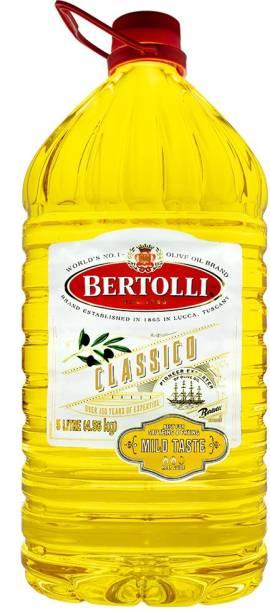 Bertolli Classico 5L Olive Oil Plastic Bottle