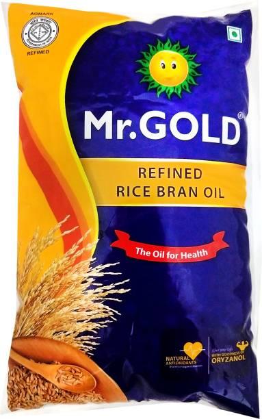 Mr.Gold Rice Bran Oil Pouch