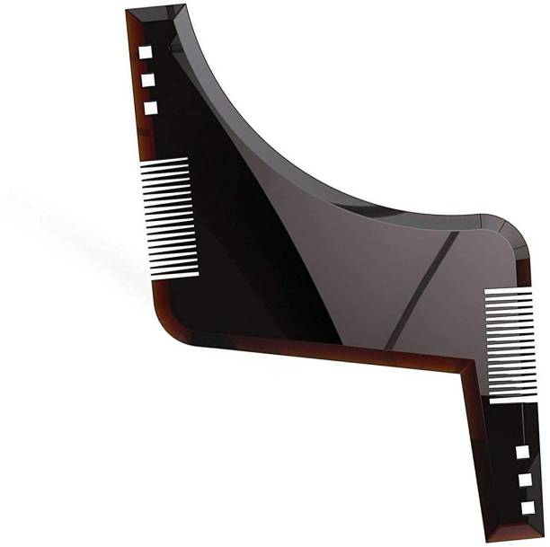 mapperz Beard Shaper Tool With Comb For Men, Home And Salon Use, Men Beard Accessories Comb