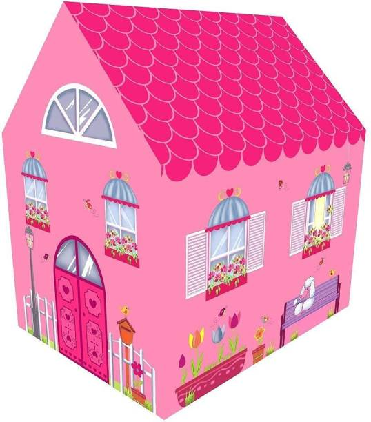 VrajVilla Jumbo Size Extremely Light Weight, Water Proof Kids Play Tent House for 10-Year-Old Girls and Boys dollhouse