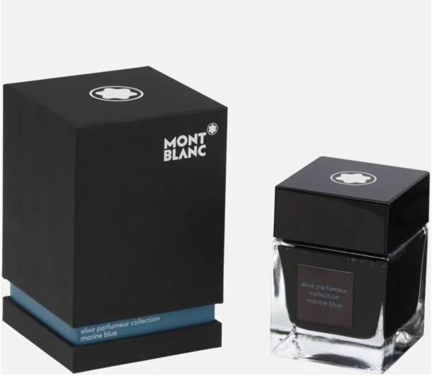 Montblanc ELIXIR PARFUMEUR Collection MARINE BLUE (50mL). Ink Bottle