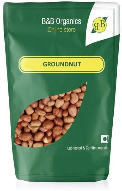 B&B Organics Brown Peanut (Whole)