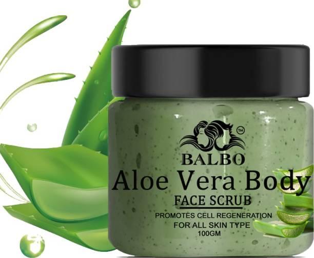 BALBO Smooth Skin 100% Aloevera Facial  Scrub