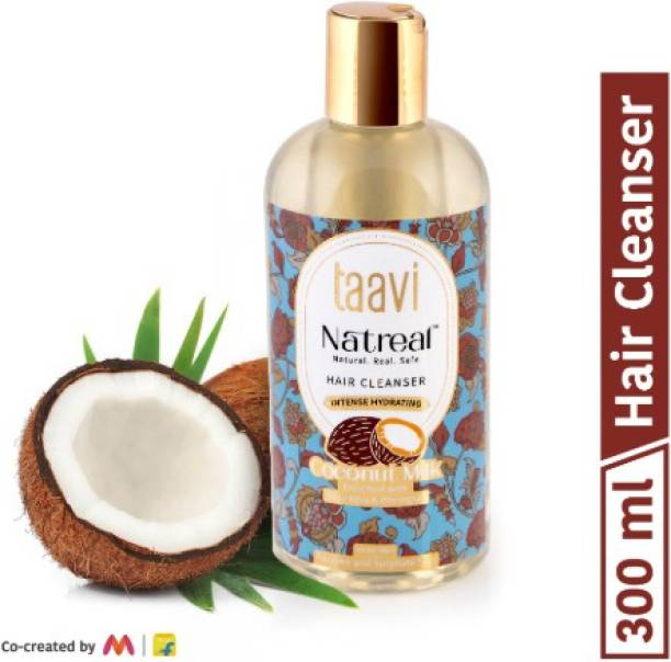 Taavi Natreal Coconut Milk Hair Cleanser for intense hydration - NO Harmful chemicals, only real ingredients