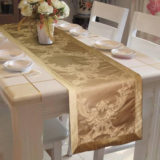Lushomes Gold 182 cm Table Runner