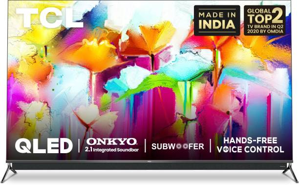 TCL C815 Series 139 cm (55 inch) QLED Ultra HD (4K) Smart Android TV With Integrated 2.1 Onkyo Soundbar