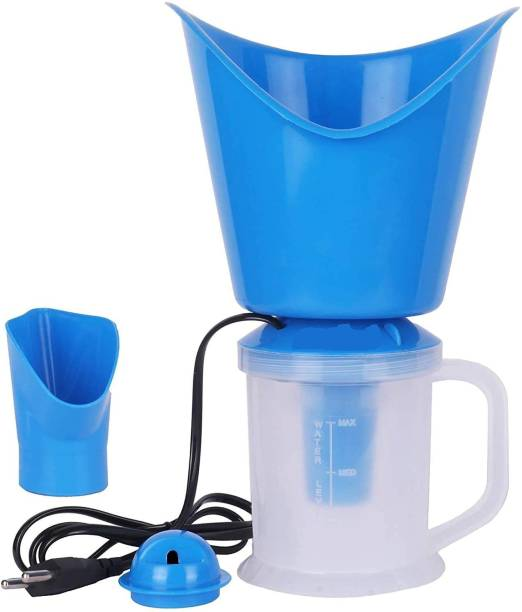N V Enterprise 3 In 1 Steam Vaporizer, Nose Steamer, Cough Steamer, Nozzle Inhaler & Nose vaporizer machine for cold and cough (blue) Vaporizer (Blue) Vaporizer