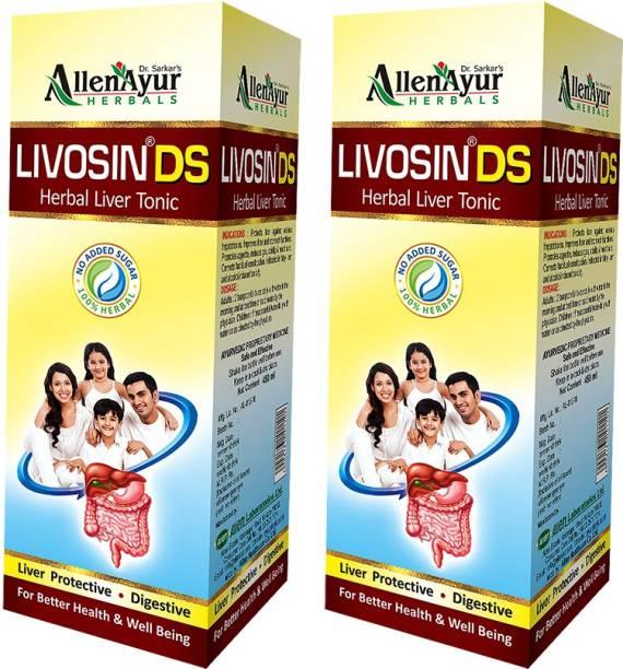 Livosin DS Herbal Liver Tonic (200ml X 2)
