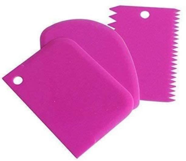 Biltoxi 3pcs/Set Cake Scraper (Color May Vary) Baking Comb
