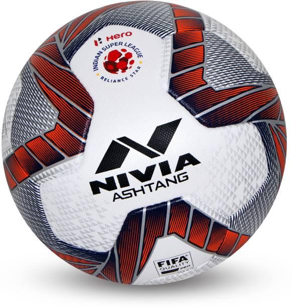 NIVIA Ashtang FIFA PRO ISL Official Football - Size: 5