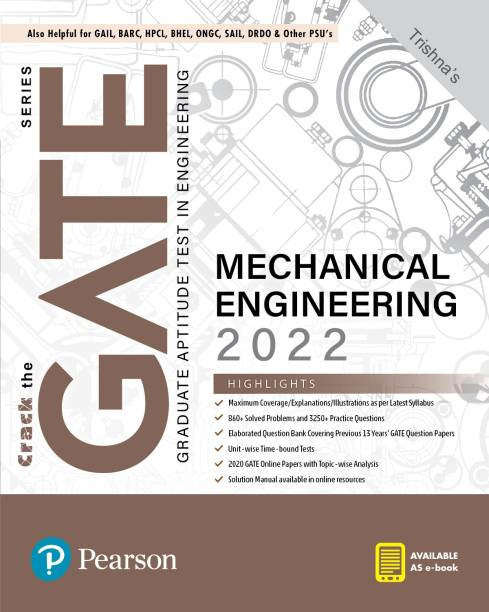 GATE Mechanical Engineering 2022  By Pearson