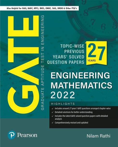 GATE Topic-wise Previous Years' Solved Question Papers Engineering Mathematics 2022   By Pearson