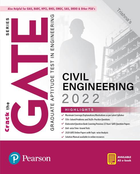 GATE Civil Engineering 2022   By Pearson