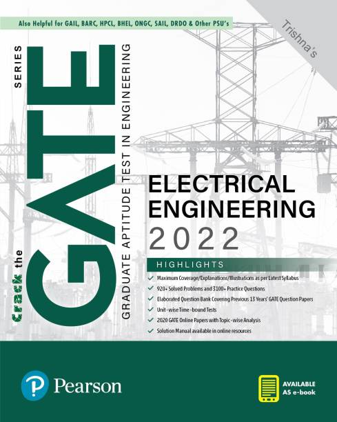 GATE Electrical Engineering 2022  By Pearson