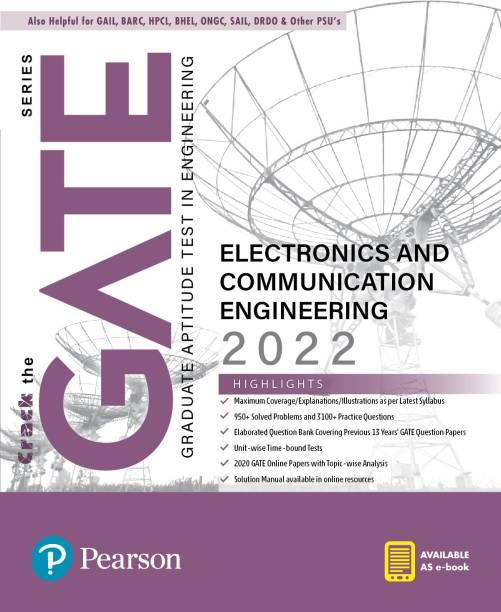 GATE Electronics and Communication Engineering 2022  By Pearson
