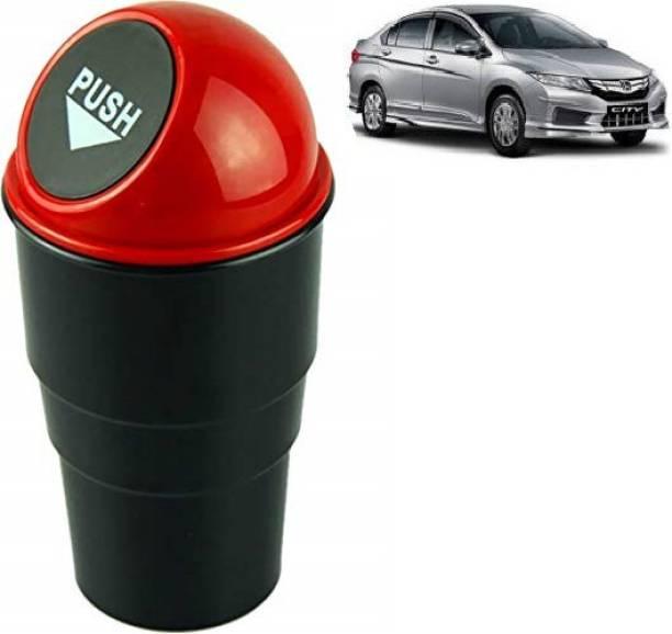 VAAMnational Home,Office,Ashtray, Car Mini Size Garbage Can Trash Dust Car Accessory Bin Plastic Dustbin Multi color TRASH BIN RED-1 CITY OLD Car Trash Bin Bag