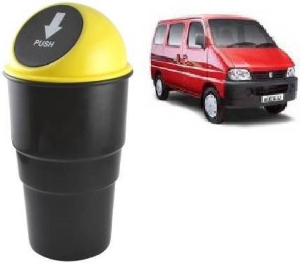 VAAMnational Car Bin Plastic Dustbin CAR DUST BIN YELLOW-1 ECHO Car Trash Bin Bag