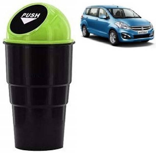 VAAMnational Car Mini Glass Size Garbage Can Trash Dust Bin Plastic Dustbin CAR BIN GR-1 ERTICA Car Trash Bin Bag