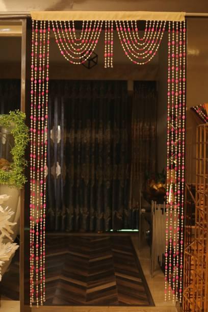 Rainbow Furnishings 215 cm (7 ft) PVC Door Curtain Single Curtain
