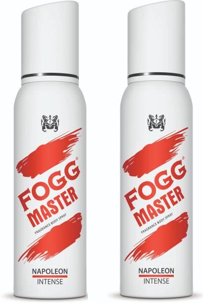 FOGG Master Napoleon Intense (Pack of 2) 240ml Body Spray  -  For Men