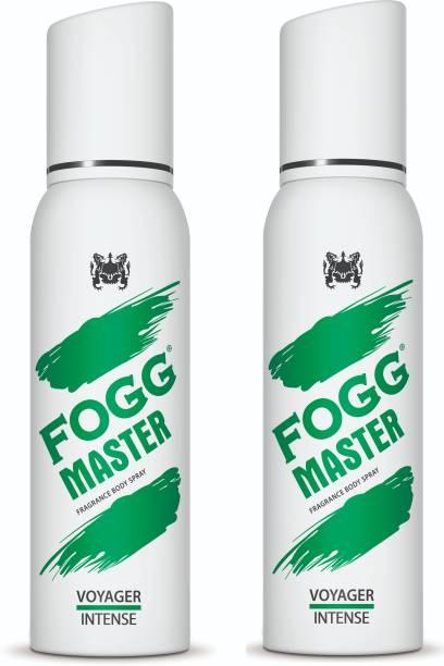 FOGG Master Voyager Intense (Pack of 2) 240ml Body Spray  -  For Men