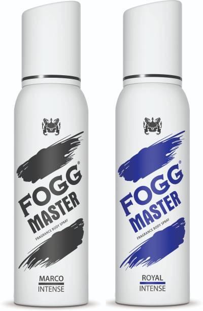 FOGG Master Intense (Marco +Royal) 240ml Body Spray  -  For Men