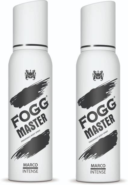 FOGG Master Marco Intense (Pack of 2) 240ml Body Spray  -  For Men
