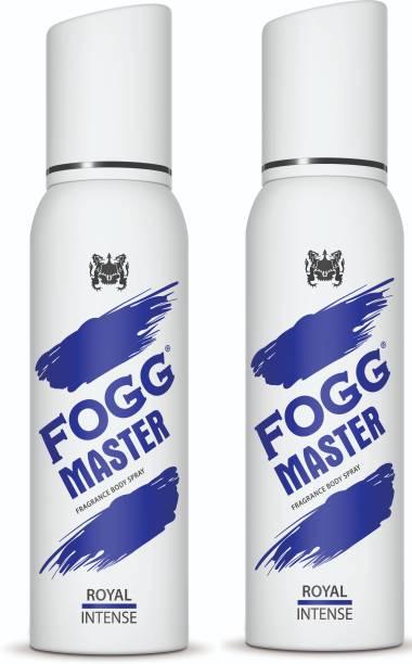 FOGG Master Royal Intense (Pack of 2) 240ml Body Spray  -  For Men