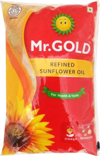 Mr.Gold Sunflower Oil Pouch